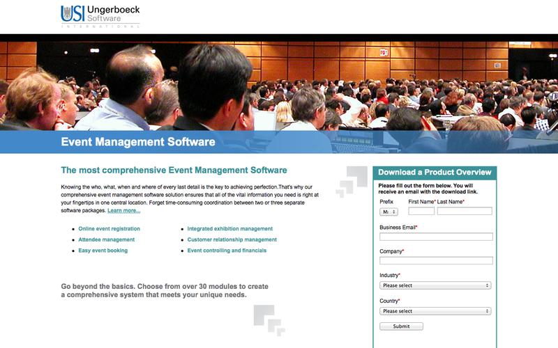 Event Management Software | Ungerboeck Software International