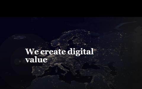 We create digital value  | Lamia