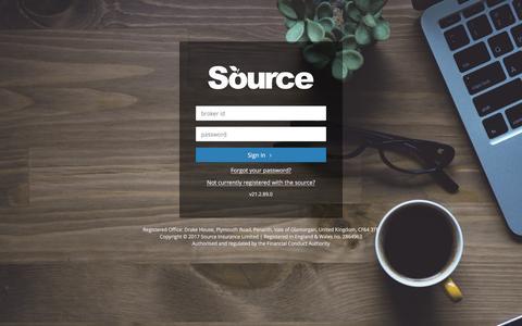 The Source Platform | Login