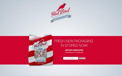 Screenshot of Home Page piedmontcandy.com - Piedmont Candy Company - captured Oct. 2, 2014