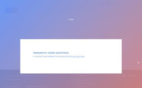 Screenshot of FAQ Page insymbiosis.com - FAQ  –  InSymbiosis - captured Nov. 6, 2018