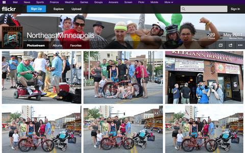 Screenshot of Flickr Page flickr.com - Flickr: NortheastMinneapolis' Photostream - captured Oct. 25, 2014