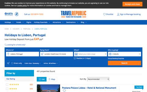 Cheap Holidays to Lisbon, Portugal 2017/2018 | Travel Republic