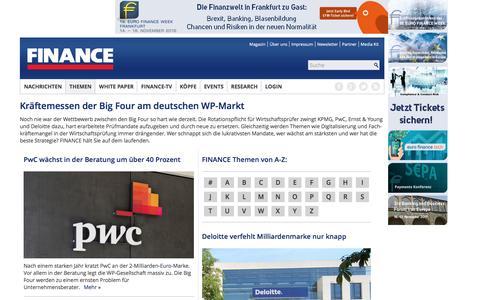 Big Four-FINANCE Magazin