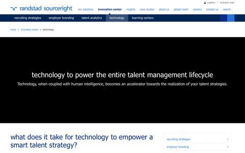 Online Recruitment Management Software | Randstad Sourceright