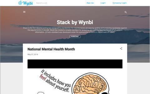 Screenshot of Blog wynbi.com - Wynbi Blog | Wynbi - captured Sept. 21, 2018