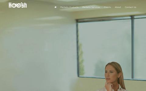 Screenshot of Home Page hooshmarketing.com.au - Hoosh Marketing | One-to-One Marketing - captured Sept. 24, 2018