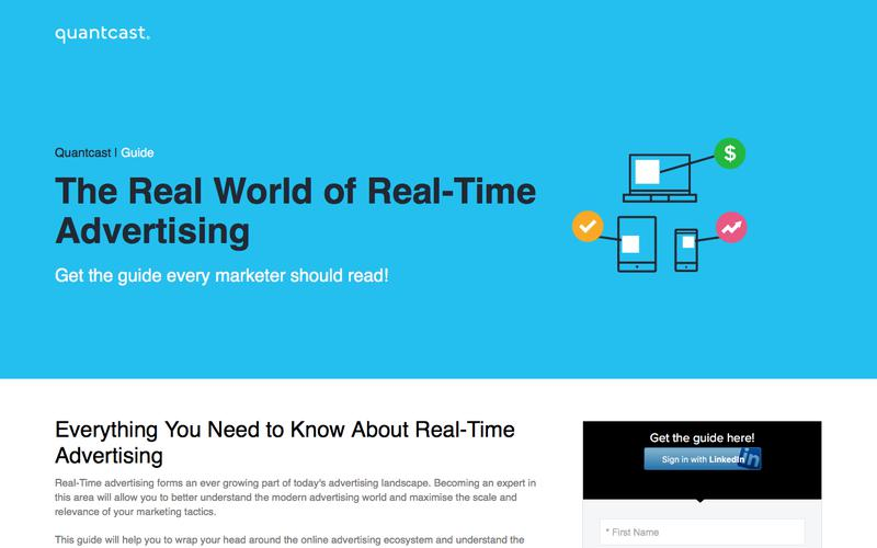Quantcast Guide | The Real World of Real-Time Advertising