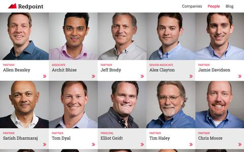 People - Redpoint Ventures