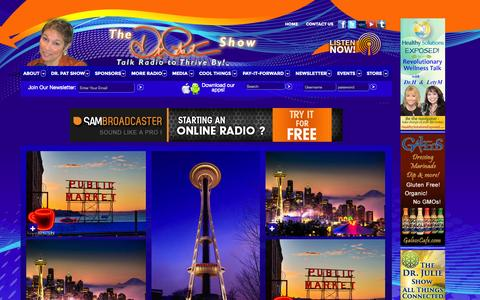 Screenshot of Signup Page thedrpatshow.com - Talk Radio Community - captured Sept. 19, 2014