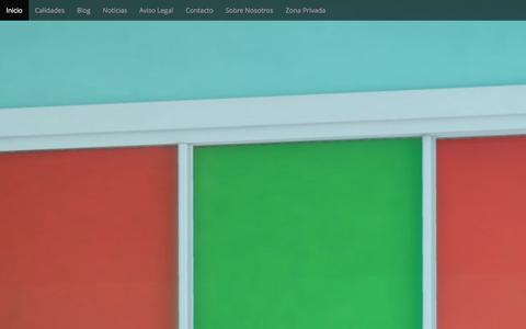 Screenshot of Home Page armaclos.com - Inicio - Armaclos S.L. - captured Sept. 11, 2015