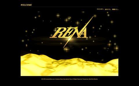 Screenshot of Home Page americanrena.com - Rena Biotechnology - captured Sept. 22, 2014