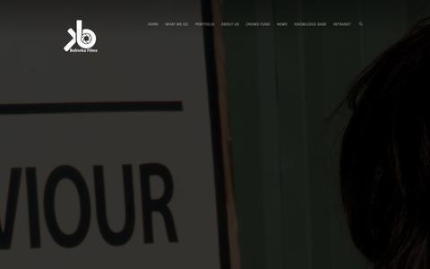 Screenshot of Terms Page babieka.com - Terms of Use - Babieka - captured Sept. 30, 2014