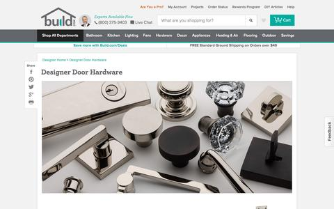 Designer Door Hardware | Build.com