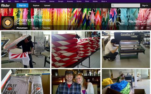 Screenshot of Flickr Page flickr.com - Flickr: Four Ambition's Photostream - captured Oct. 25, 2014