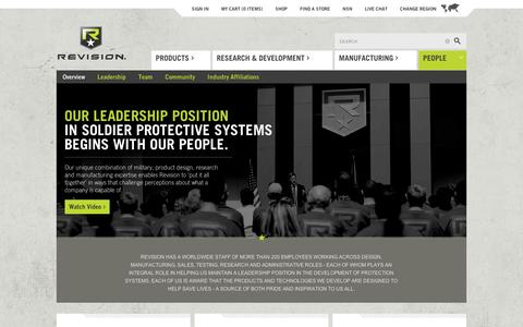 Screenshot of Team Page revisionmilitary.com - Revision Military |   People - captured Sept. 12, 2014