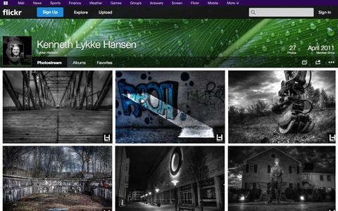 Screenshot of Flickr Page flickr.com - Flickr: Lykke-Hansen's Photostream - captured Oct. 23, 2014