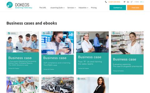 Business cases and ebooks - Dokeos