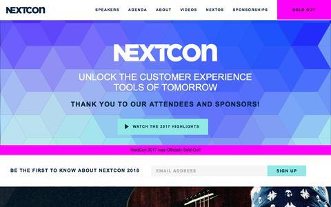 NextCon | Unlock the Customer Experience Tools of Tomorrow