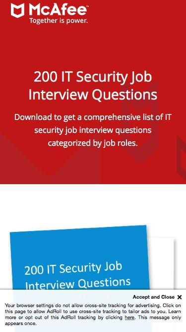 200 IT Security Job Interview Questions