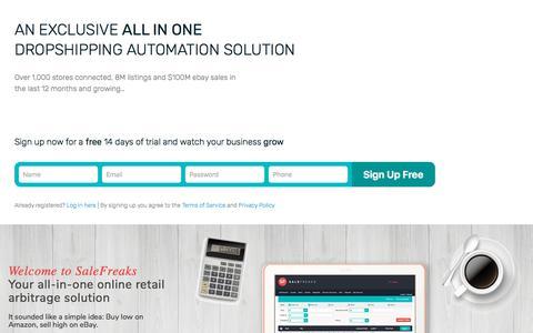 Online Arbitrage Software System, eBay Arbitrage From Amazon
