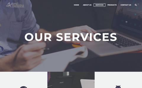 Screenshot of Services Page amsoftinnovations.com - Services - Amsoft, Digital Marketing Company in pune, Search Engine Optimization, PPC and SMM, School Management System, College Management Software, ERP ,Website Design, Mobile Apps Development company in pune , website design company in pune, - captured Oct. 3, 2018