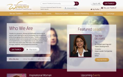 Screenshot of Terms Page theiwla.com - The darkest hour…. - TheIWLA - captured Oct. 9, 2014