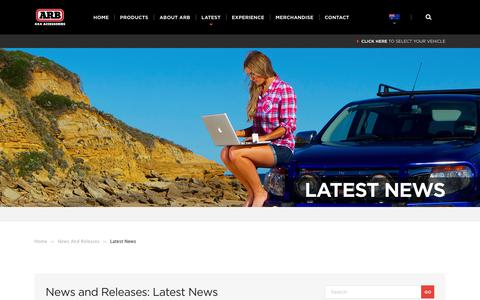Screenshot of Blog arb.com.au - ARB 4×4 Accessories | Latest News Archives - ARB 4x4 Accessories - captured June 29, 2017