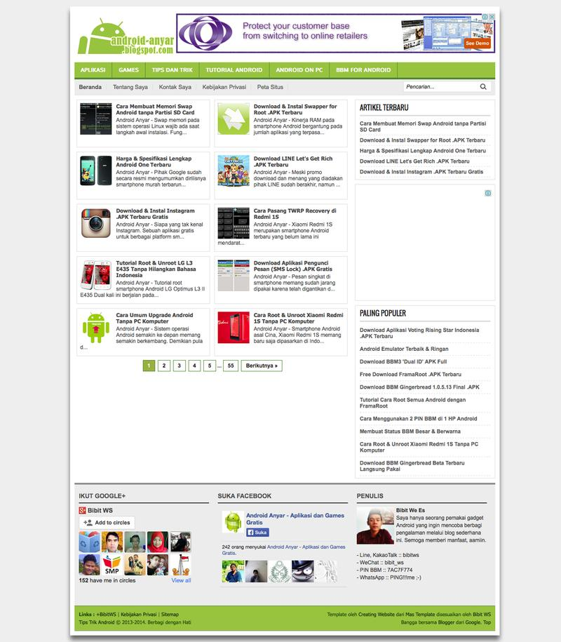 Web Design Timeline | A page on android-anyar blogspot com