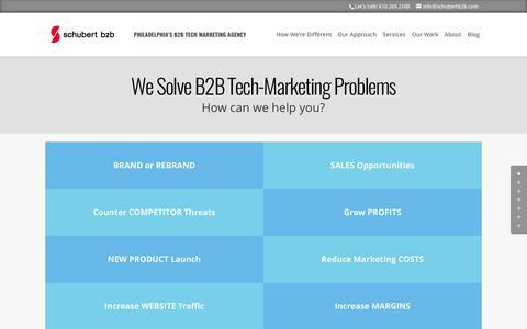 Philadelphia's Digital Marketing Agency | Schubert b2b