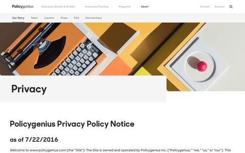 Privacy, security, & confidentiality