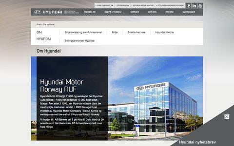 Om Hyundai | Hyundai