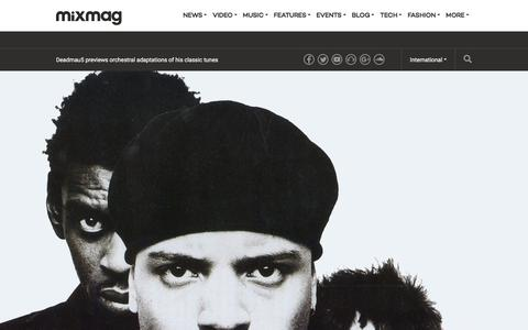 Screenshot of mixmag.net - From The Archives: The Return of Massive Attack  - Features - Mixmag - captured Jan. 16, 2018