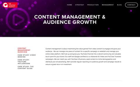 Screenshot of Team Page thecontentagency.com.au - Content Management Overview — The Content Agency - captured Feb. 15, 2016