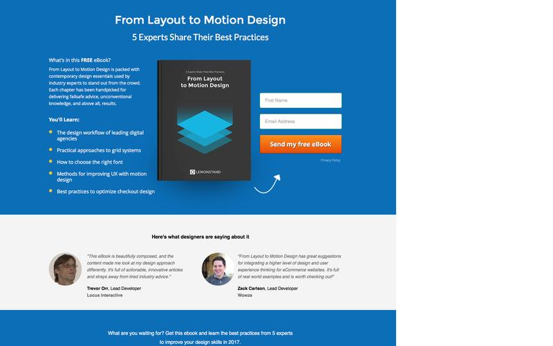 Website Design: From Layout to Motion Design -  5 Experts Share Their Best Practices | Free PDF eBook