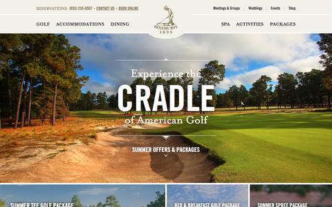 Pinehurst Resort | Golf, Spa & Dining