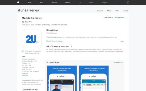 Mobile Campus on the App Store