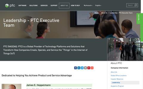 PTC Executive Team | PTC