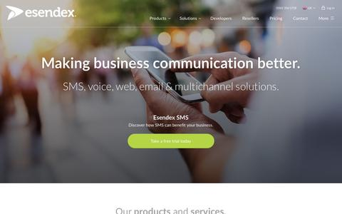 Business SMS services | Esendex