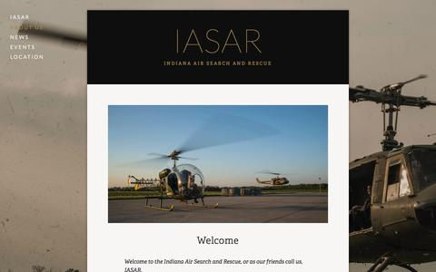 Screenshot of About Page iasar.org - About Us — IASAR - captured Feb. 10, 2016