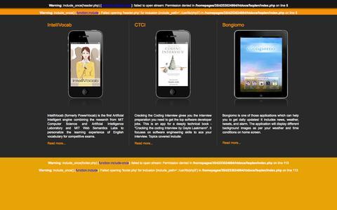 Screenshot of Home Page faqden.com captured Oct. 6, 2014
