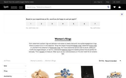 Shop Women's Rings