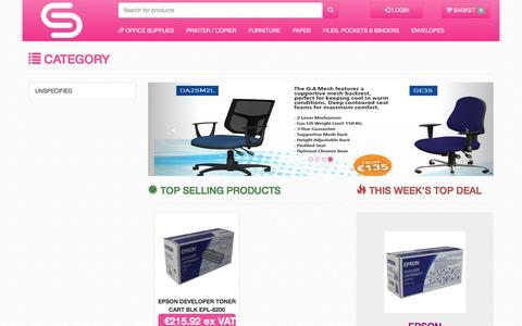 Screenshot of Developers Page sundrysupplies.com - SundrySupplies Online Ordering - Category - captured Dec. 17, 2016
