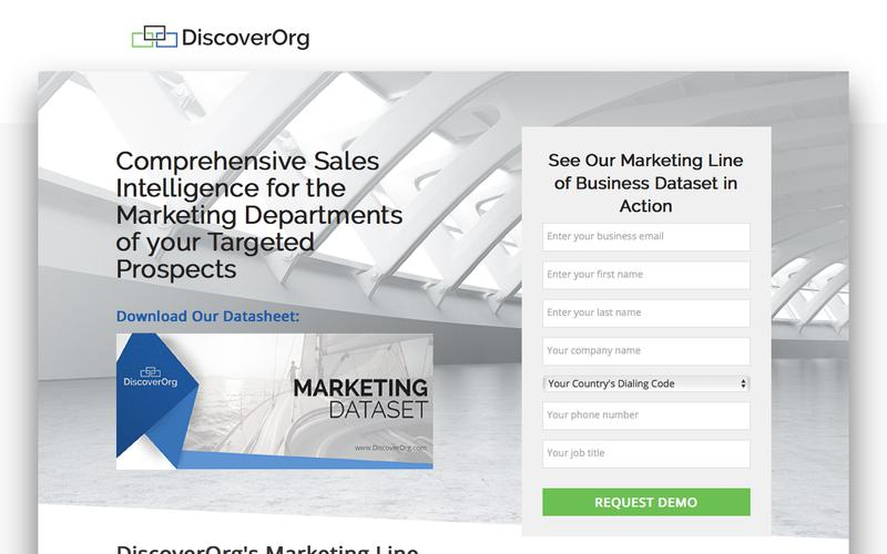 Accurate Intelligence for Marketing Targeted Prospects | DiscoverOrg