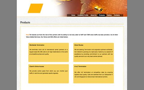 Screenshot of Products Page mos5tel.com - mos5tel >> Official Page - captured Oct. 26, 2014
