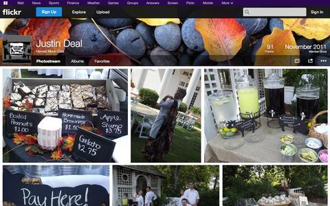 Screenshot of Flickr Page flickr.com - Flickr: Harvest Moon Café's Photostream - captured Oct. 22, 2014
