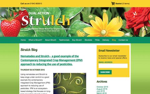 Screenshot of Blog strulch.co.uk - Blog   Strulch - captured Dec. 17, 2016