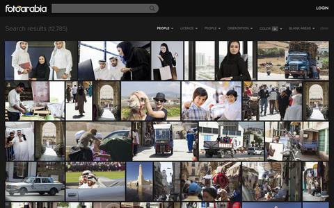 Screenshot of Team Page fotoarabia.com - Search Photos - FotoArabia - captured Sept. 19, 2014