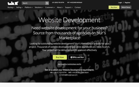 Website Developers | blur Group