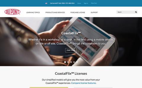 Screenshot of Home Page coastalflix.com - CoastalFlix - captured May 16, 2018